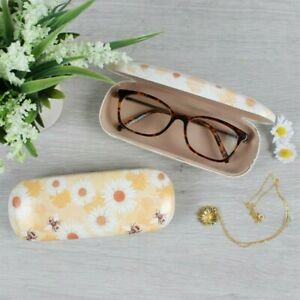 Bee and Daisy glasses case sunglasses case