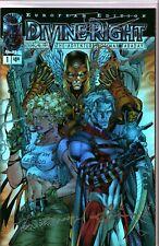 Image Comic Book Divine Right #1C European Edition Chromium Cover Signed Sealed