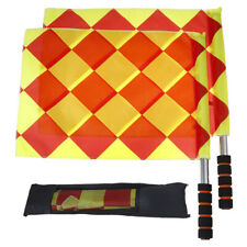 Soccer Referee Flags Professional Fair Play Football Linesman Flags With Br_Jh