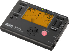 Korg Tm60 Combo Tuner Metronome Black Tm-60