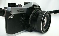 Mamiya nc1000s 35mm SLR Camera with Auto Mamiya-Sekor CS 50mm 1.7 Lens