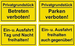 ☆ Privatgrundstück - Betreten Parken verboten / Einfahrt Ausfahrt freihalten