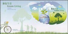 Hong Kong Green Living sheetlet cover MNH 2011