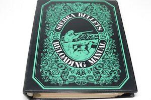 Sierra Bullets 1971 Reloading Manual 3 Ring Binder Tables Book Information Guide