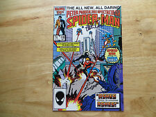 1986 SPIDER-MAN # 118 SIGNED 3X BOB MCLEOD,RICH BUCKLER & PETER DAVID, WITH POA