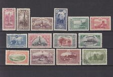 TURKEY 1914, Sc# 254-267, part set, architecture, ships, MH/Used
