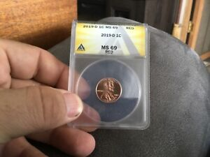 Top Pop 2019-D Lincoln Cent MS 69RED ANACS