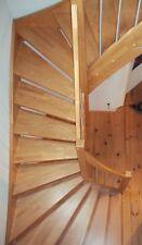 Jubiläumsangebot ! Massive Holztreppe 1/2 gewendet, Made in Germany