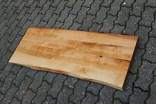 Waschbecken Tischplatte Platte Birke Massiv Holz mit Baumkante NEU Leimholz