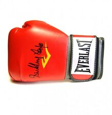 Sir Henry Cooper signed Everlast boxing glove (vertical)  in presentation box