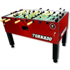 Tornado T-3000 Foosball Table In Crimson Red Non-Coin Home Model