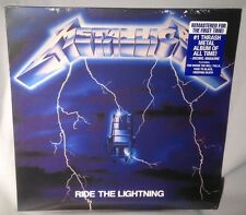 LP METALLICA Ride The Lightning 180g Remastered 2016 NEW MINT SEALED