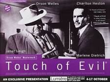 Touch Of Evil Movie Poster 27x40 Uk Charlton Heston Orson Welles Janet Leigh