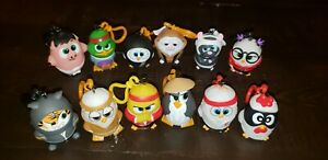 Kung Fu Coop - Meet The Squad Adventure Complete Set of 12 Collectible Keychains