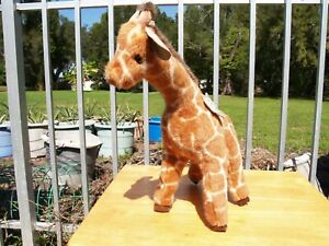 "VINTAGE GUND - STILTS THE GIRAFFE - 19"" - #2828 -1986 - VERY NICE - ALL TAGS"