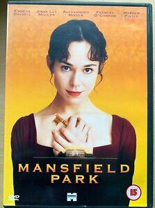 Mansfield Park DVD 1999 Jane Austen Period Drama Film Movie Classic