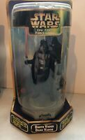 "Darth Vader 9"" Action Figure - Star Wars Epic Force Figure Rotating Base Hasbro"
