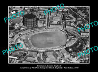 OLD POSTCARD SIZE PHOTO KENNINGTON LONDON ENGLAND THE CRICKET TEST MATCH 1950