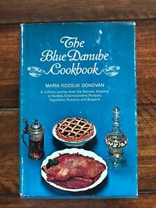 Vintage The Blue Danube Cookbook 1967 1960's Housewife Austria Hungary Bulgaria