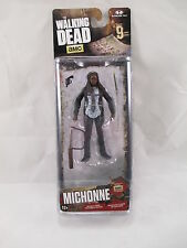 "AMC THE WALKING DEAD 2016 SERIES 9 FIGURE ""MICHONNE"" McFARLANE TOYS AGES 12+!!"
