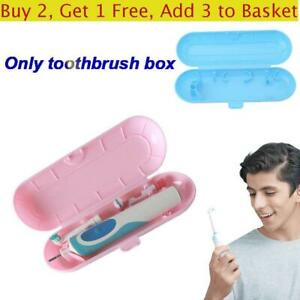 Portable Camping Cover Storage Holder Electric Toothbrush Case Protective Box