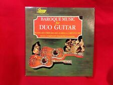 BAROQUE MUSIC FOR DUO GUITAR Turnabout TV-S 3431 33rpm LP