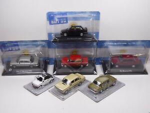 KAS7 LOT de 7 véhicules FIAT 1/43 Collection cassés broken models rotos