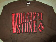 NWT VOLCOM STONE & TOMMY HAWK L/S TEE-SHIRTS 100% COTTON Lot of 2 - SZ: SMALL