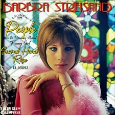 """7"""" BARBRA STREISAND People Musical Funny Girl /Second Hand Rose COLUMBIA US 1966"""