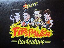 AFL Firepower Caricature card set