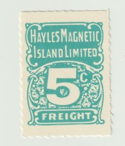 Australia- Hayles Magnetic Island Limited 5c Parcel stamp Very Clean NO gum