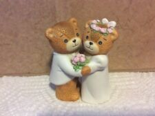 Vintage Figurine Lucy & Me Enesco Rigg Wedding Married Bride Groom Cake Topper