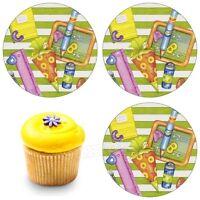 Eßbar Tortenaufleger Einschulung Schulkind Muffin NEU Tortenbild Schulanfang