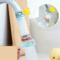360°Rotate Swivel Faucet Nozzle Filter Adapter Water Saving Tap Aerator Diffuser