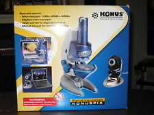 KONUS KONUSPIX DIGITAL MICROSCOPE -- 100x-200x-450x -- FREE SHIPPING!!!
