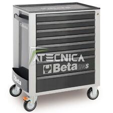 Carrello cassettiera mobile Beta C24S 8/G porta utensili 8 cassetti grigio