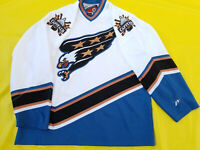 Washington Capitals Jersey Mens XL white screaming Eagle retro Pro Player NHL