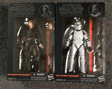 star wars black series 6 inch Anakin and Clone Trooper 2014 IN BOX