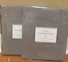 Pottery Barn 100% Linen Curtains, Drapes U0026 Valances   EBay