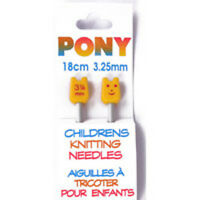 Pony Childrens Knitting Needles  - **A lovely hobby for Childrern** - To Choose*