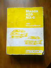 Mazda 626 & MX-6 1988 Workshop Manual