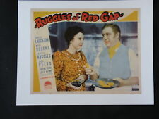 RUGGLES OF RED GAP CHARLES LAUGHTON Mary Boland 1935 Movie lobby card reprint