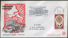 FRANCE EUROPA 1st DAY OF USE OF SPECIAL FLAME FDC STRASBOURG BAS-RHIN 19-10-1964
