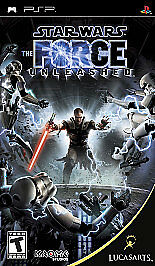 Star Wars: The Force Unleashed Sony PlayStation Portable PSP New Sealed