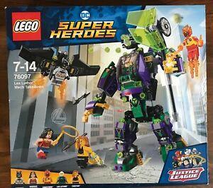 LEGO SET BOITE SUPER HEROES DC COMICS 76097 LEX LUTHOR MECH TAKEDOWN