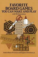 Favorite Board Games You Can Make and Play-ExLibrary
