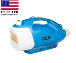 3L Cordless Electric ULV Cold Fogger Disinfectant Sprayer + 5 Free Tablets