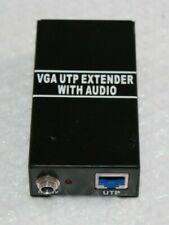 VGA UTP EXTENDER 1X1 SPLITTER WITH AUDIO @Z11