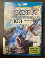 Rodea the Sky Soldier (Nintendo Wii U, 2015) Includes both Wii and Wii U Version