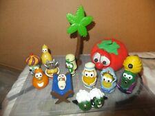 Veggie Tale Figures and Plush lot